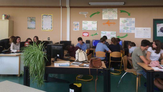 Lycéens journalistes en 2de3